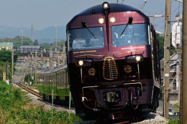 CRUISE TRAIN SEVEN STARS IN KYUSHU/SEVEN STARS 【ななつ星 in 九州】|おじゃかんばん『鉄道フォト集』