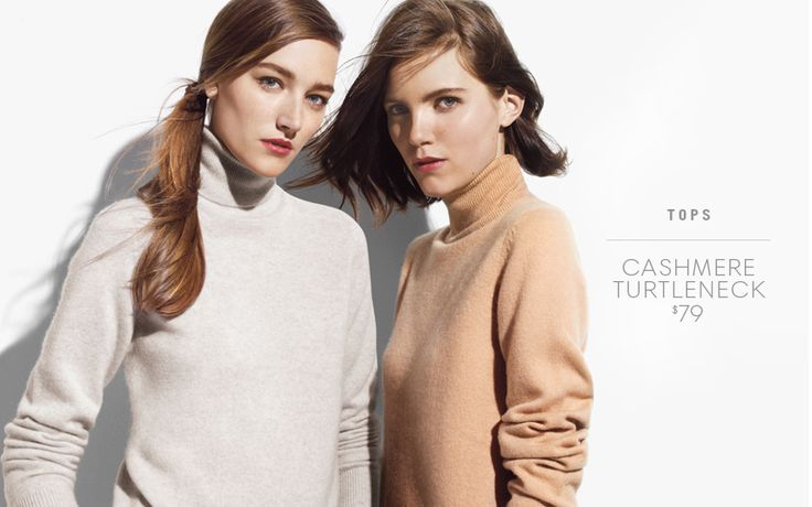 JOE FRESH - odd to have cashmere at $79 and then merino at $39. Cashmere not consistent with vision and target customer.