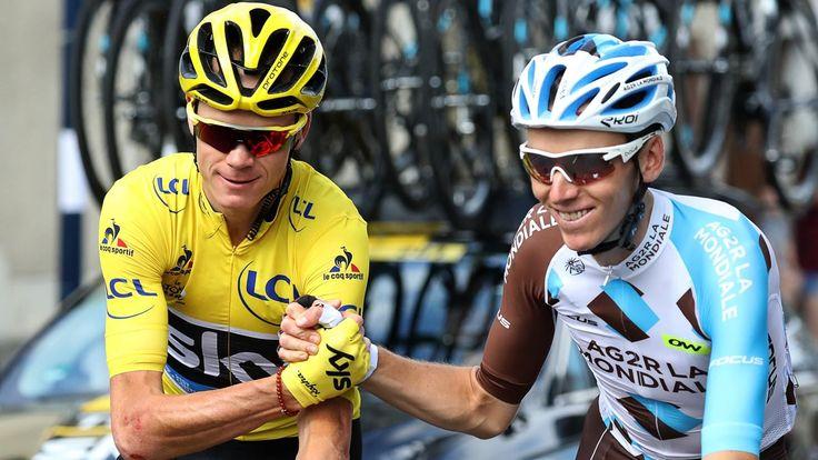 Triple vainqueur du Tour de France, Chris Froome s'attend à une concurrence toujours plus vive en 2017. Notamment de la part du Français Romain Bardet, son dauphin l'an passé sur la Grande Boucle.  ICI Triple vainqueur du Tour de France, Chris Froome...