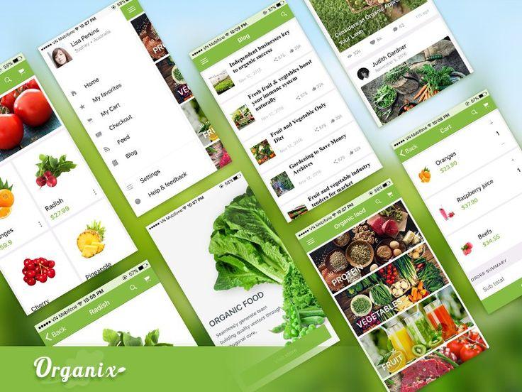 Organix - Ionic Food App