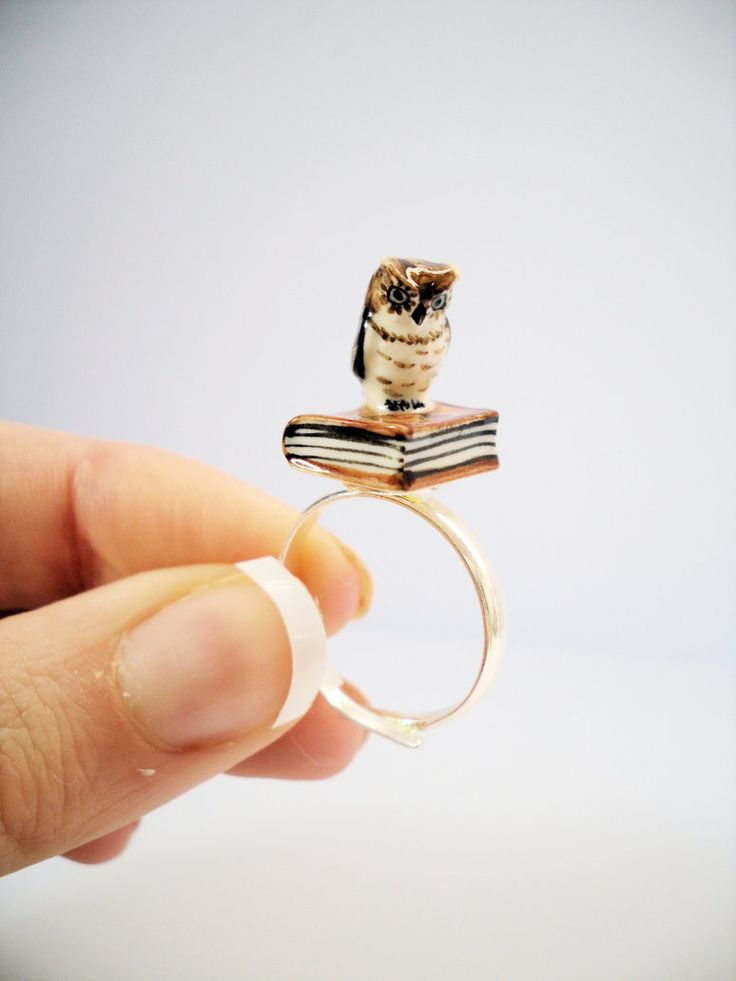 WANT!!! Harry Potter Hedwig Inspired Ring by ~beautboutique on deviantART