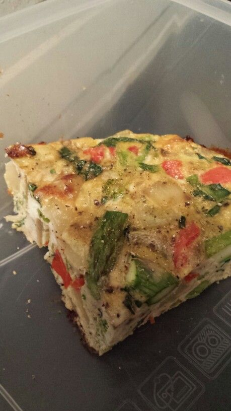 Veggie Frittata - Wild Rose detox (D-tox) cleanse recipes-