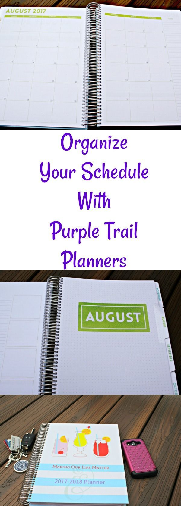 Need to get a handle on your blog plan? See how a personalized planner from #PurpleTrail can keep you on track. #Affiliate