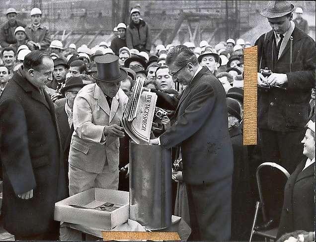 1963 Grundsteinlegung fuer das Europa Center