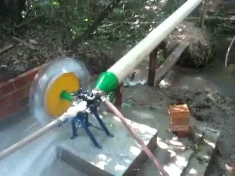 Turbo bombas hidraulicas acionadas com quedas daguas em fazendas rurais, custo e manutenção baixa, fabricamos tambem as rodas dagua, micros usinas para geraç...