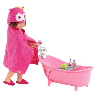 Our Generation Home Accessory Bathtub Set 21 84 Our