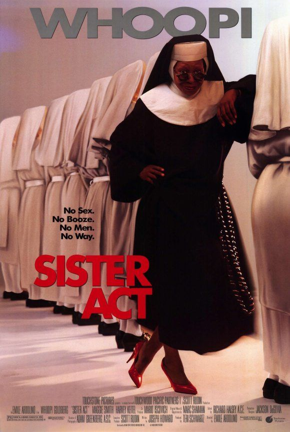 Sister Act  (1992) with Whoopi Goldberg was a good comedy. Good music also!