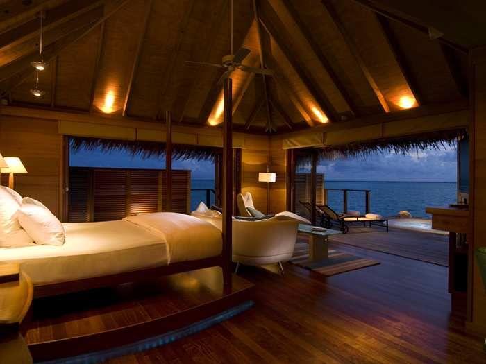 Conrad Maldives Rangali Island. King Deluxe Water Villa. Yes, please.