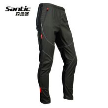 US $32.48 Santic Cycling Pants For Men Fleece Themal Bike Pants Winter Men MTB Clothing Downhill Clothing Reflective Trousers Pantalones. Aliexpress product