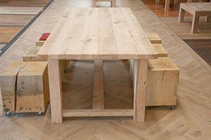 kloostertafel eiken http://www.fairwood.nl/Oud-Eiken-tafel-York.html natuurlijk geolied eiken