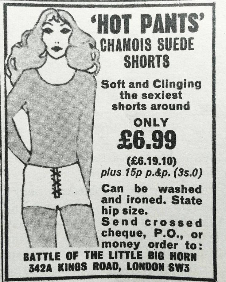 misspeelpants:   Hot Pants, 1971. #1970s... - _