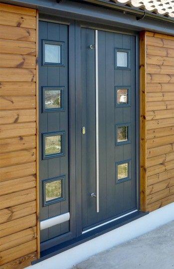 contemporary external doors grey - Google Search