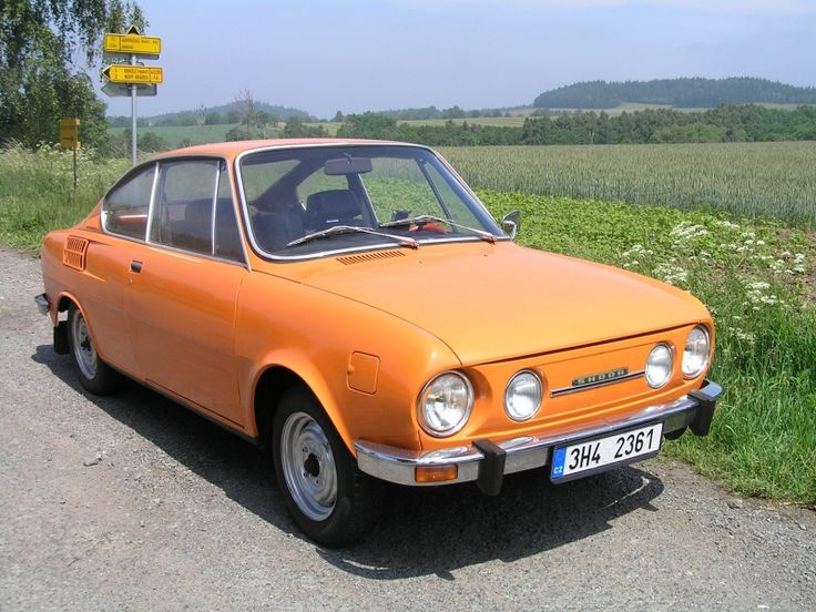 The Škoda 110 R was a rear-engined, rear-wheel drive car that was produced by Czechoslovakian manufacturer AZNP in Kvasiny, between 1970 and 1980. During those ten years, a total of 56,902 coupés were made.