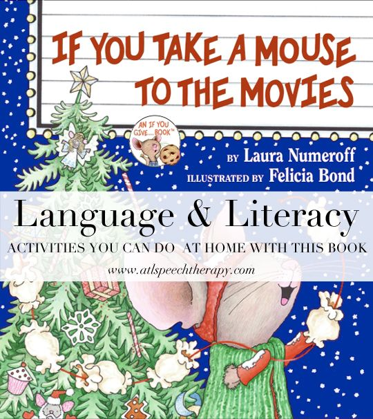 Language And Literacy Activities For If You Take A Mouse