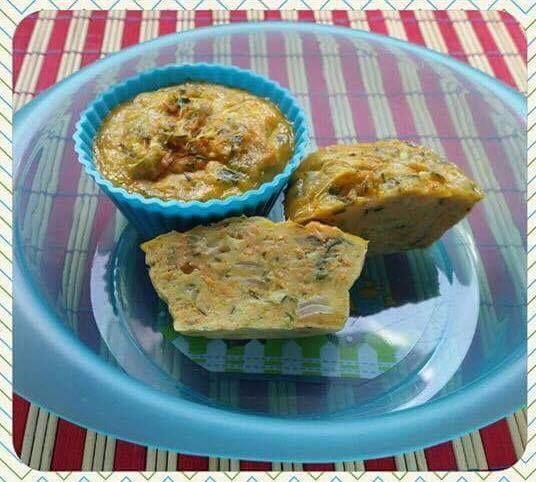 Zöldségfelfújt muffin formában | Manó Menü