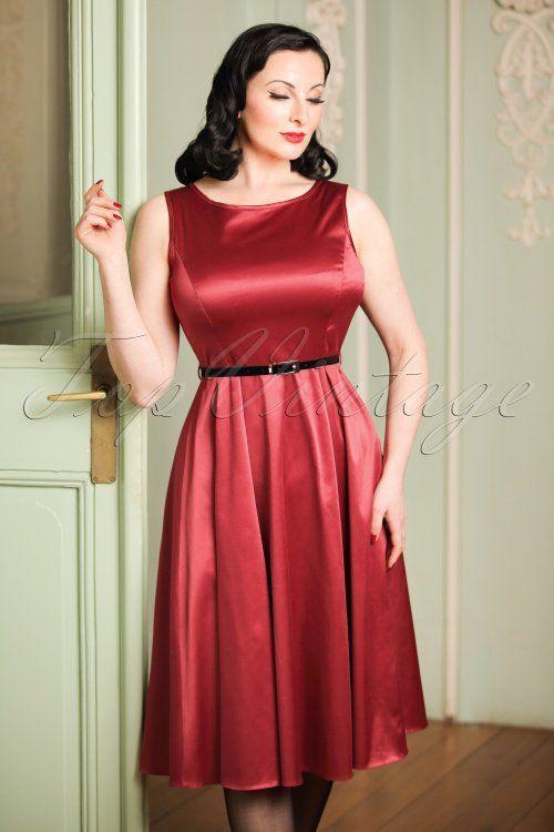 Lady V Ruby Red Swing Dress 102 20 19389 20161021 1W