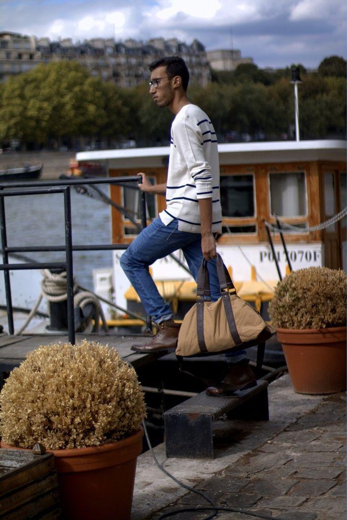 theparisianclaw.over-blog.com  Shoes : Primark   #style #streetstyle #inspiration #bonnet #mode #menswear #menstyle #ootd #outfit #men #casual #Paris #Seine #France #summer #péniche #parisien #parisian #marinière