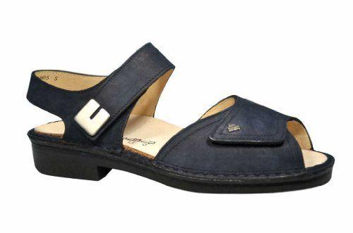 FinnComfort Sandale Luxor Darkblue - http://on-line-kaufen.de/finn-comfort/finncomfort-sandale-luxor-darkblue