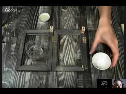 Видеозапись как состарить фурнитуру. Ржавчина. Юлия Герман