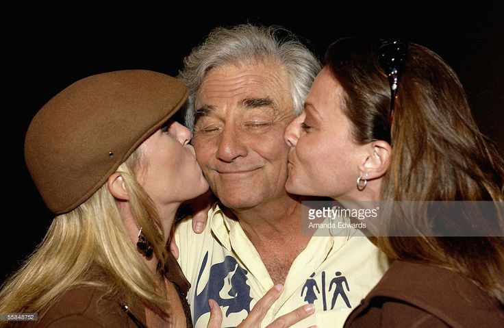 Actor Peter Falk greets fans at the Variety Screening Series of 'The Thing About My Folks' at the Arclight Theaters on October 3, 2005 in Hollywood, California.