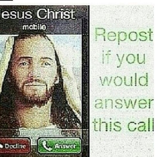 I would be rushing to answer and before he could hang up I would ask so many questions and badger him so much he would probably hang up on me lol