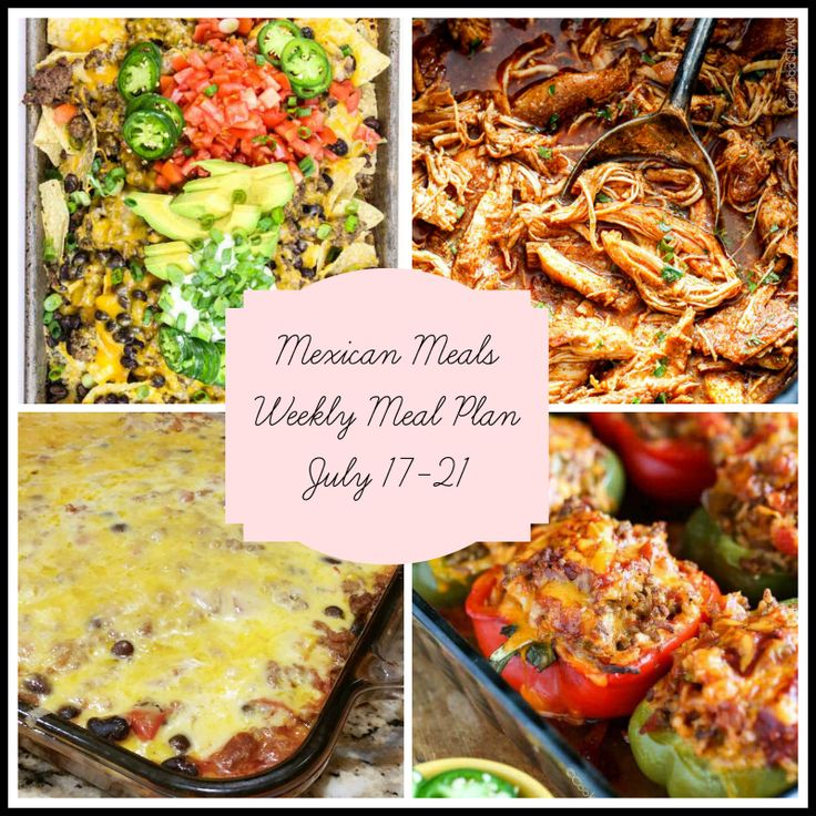 5 of your favorite Mexican Meals delivered to you in one place! Oven baked nachos, Mexican stuffed peppers, Salsa Verde Honey Lime Chicken Tacos and more!