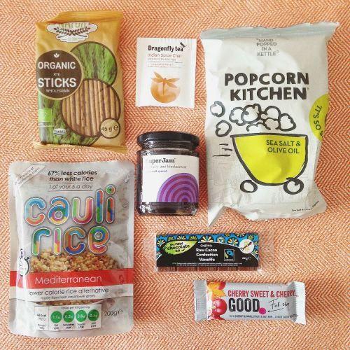 Flowbox Mini Vegan Subscription box October 2015 contents review blog