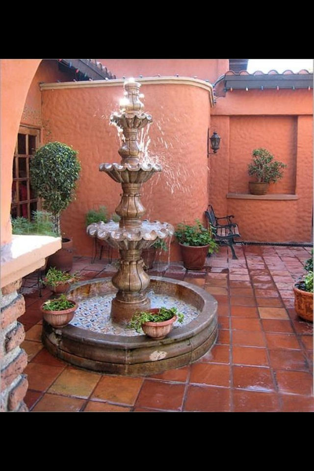 10 Best Mexican Fountains Images On Pinterest Home
