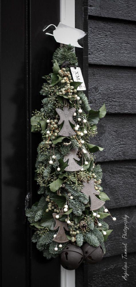Art de la Fleur , Sobere en landelijke Bloemschik workshops ,  Kerst , Christmas , Angelique Temmink    www.artdelafleur7.nl