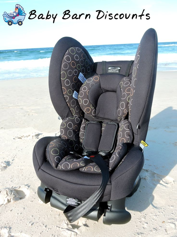 Babylove Cosmic Convertible Car Seat. Easy to install, easy to adjust and easy to convert! Harness adjustment, installation and conversion from newborn to toddler approx. 4 years of age.