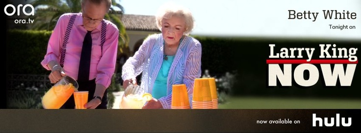 America's sweetheart Betty White opens up about her amazing career and why, at 90, she has no plans to slow down. Plus, Larry and Betty open a lemonade stand in Beverly Hills. Click the image to watch the full episode on Ora TV & Hulu!