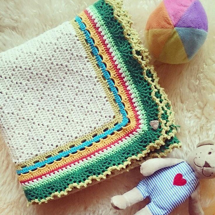 Baby blanket#crochet