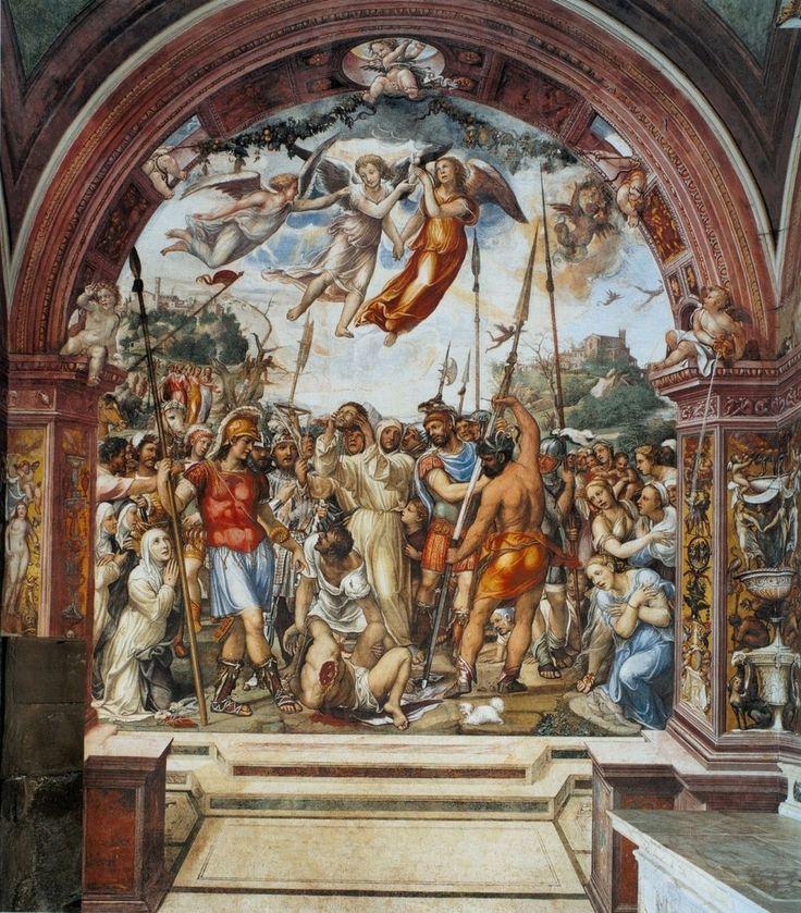 Содома. Казнь Николо ди Тульдо. 1526Б ц. Сан Доменико, Сиена.