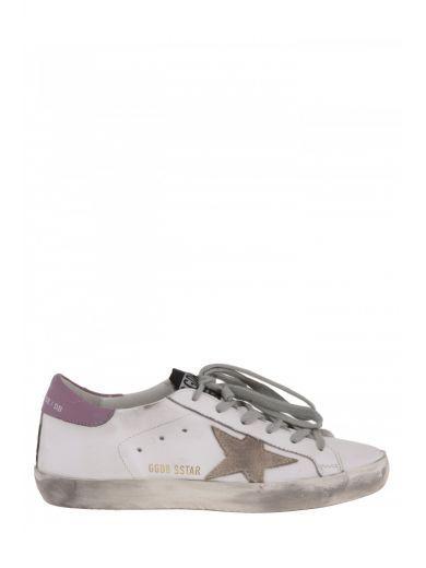 GOLDEN GOOSE Golden Goose Deluxe Brand Sneaker Bassa In Pelle. #goldengoose #shoes #sneakers