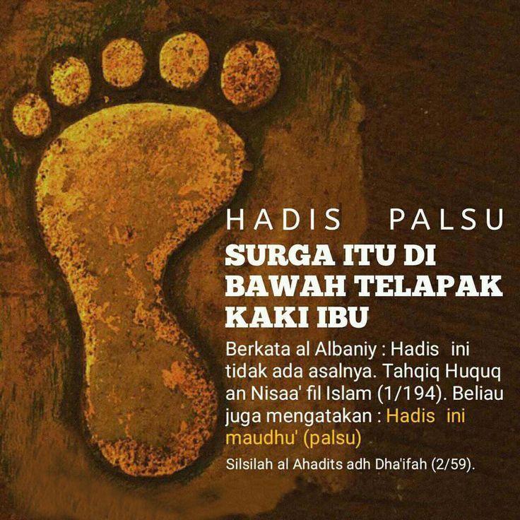 Follow @NasihatSahabatCom http://nasihatsahabat.com #nasihatsahabat #mutiarasunnah #motivasiIslami #petuahulama #hadist #hadits #nasihatulama #fatwaulama #akhlak #akhlaq #sunnah #aqidah #akidah #salafiyah #Muslimah #adabIslami #DakwahSalaf #ManhajSalaf #Alhaq #Kajiansalaf #dakwahsunnah #Islam #ahlussunnah #tauhid #dakwahtauhid #Alquran #kajiansunnah #salafy #haditspalsu #palsu #maudhu #surgadibawahtelapakkakiibu