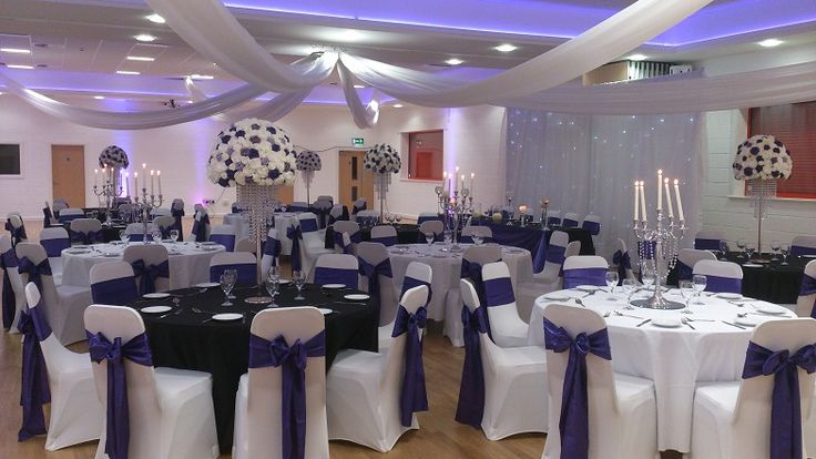 Venue dressing for weddings and events at Altrincham FC