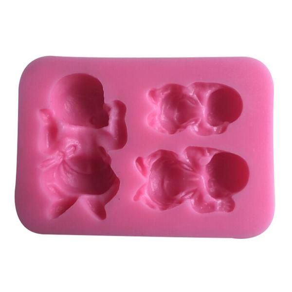 Baby Mickey /& Minnie 16 cavity Silicone Mold for Fondant Gum Paste Chocolate Crafts