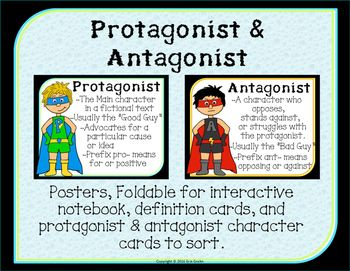 what is the relationship between an antagonist and a protagonist