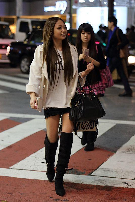Shibuya, Tokyo street fashion 2012