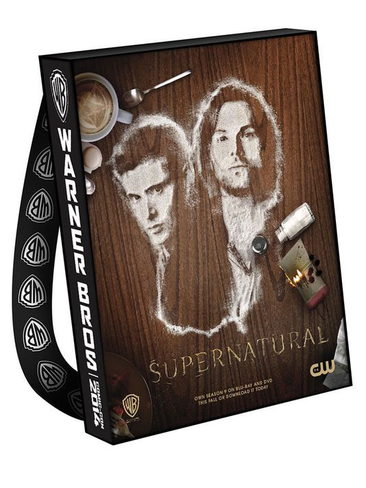 SUPERNATURAL Comic-Con 2014 Bag -- these will be sold at Comic Con. The Supernatural panel will be on Sunday a 10 a.m.  Why can't I be there? Why? Why? Why?!!