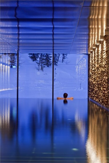 Copperhill Mountain Lodge - Member of @Design Hotels™ - Åre, Sweden - 2009 - Bohlin Cywinski Jackson #hotel #design #swimmingpool
