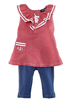 Ralph Lauren Childrenswear Nautical Legging Set