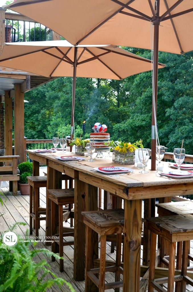 Outdoor Entertaining Tips Deck PartyPatio