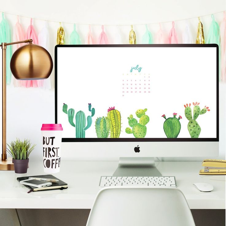 Free July 2016 Desktop Wallpaper Calendars