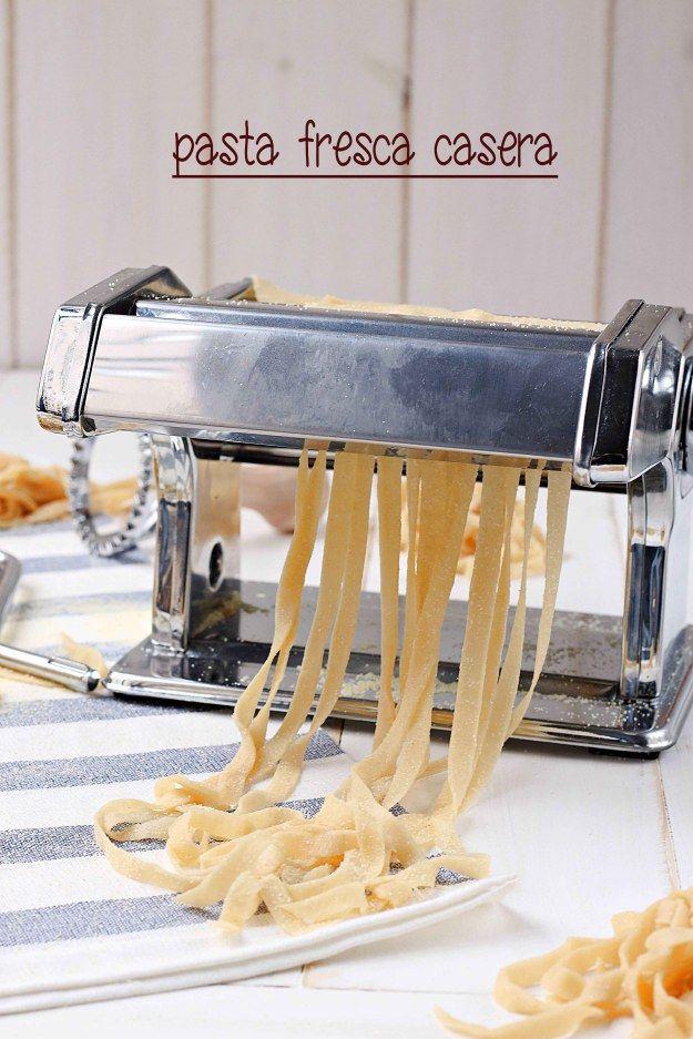 Pasta fresca casera {by Paula, Con las Zarpas en la Masa}
