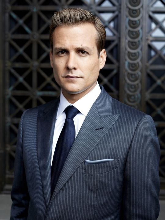 Where can I get one of these??! I love Harvey. Great character. -Suits (TV show) Gabriel Macht as Harvey Specter