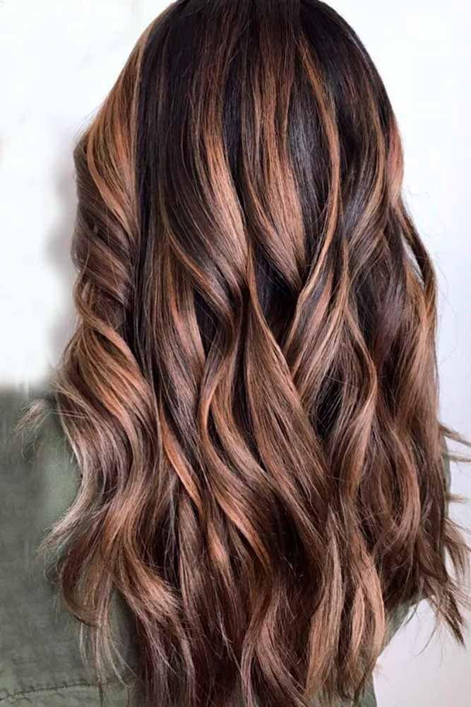 21 Ideas Of Highlights For Dark Brown Hair Highlights For Dark