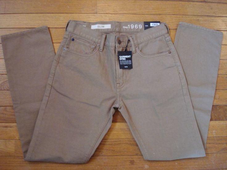 NEW Gap 1969 men's slim jeans size 29 X 30 NWT New originally $59.95 #Gap #SlimSkinny
