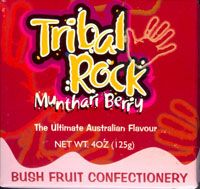 Bush Fruit Confectionery made with delicious soft centres filed with Australian native fruits [Munthari Berry]  Munthari Berry - the ultimate Australian flavour!!  [approximately 32 lollies per box]  Price: $6.00 each [incl GST]
