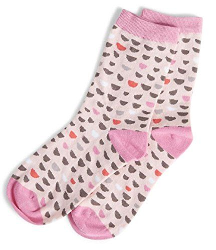 Vera Bradley Foxy Socks in Blush Half Moons * Check out this great product.